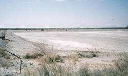 Brine Evaporation Pond